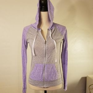 Zine zip up hoodie.  Size S